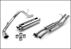 MagnaFlow - Magnaflow Cat-Back Exhaust System with Rear Side Exit - 15838