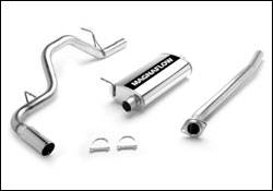 MagnaFlow - Magnaflow Cat-Back Exhaust System with Rear Side Exit - 15839