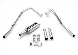 MagnaFlow - Magnaflow Cat-Back Exhaust System with Dual Split Rear Exit Pipes - 15863