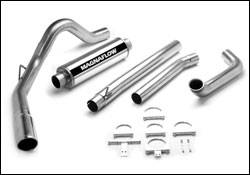MagnaFlow - Magnaflow Performance Series 4 Inch Exhaust System with Turbo-Back Tuner - 15932