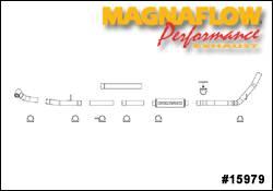 MagnaFlow - Magnaflow XL Series 4 Inch Exhaust System - 15979