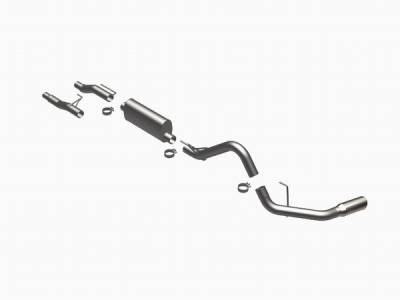 MagnaFlow - Ford F150 Magnaflow Stainless Steel Cat-Back System - 16518