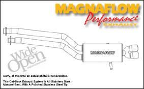 MagnaFlow - Magnaflow Cat-Back Exhaust System - 16533