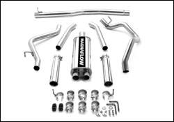 MagnaFlow - Magnaflow Cat-Back Exhaust System with Dual Split Rear Exit Pipes - 16622