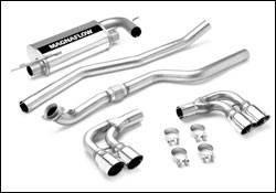 MagnaFlow - Magnaflow Cat-Back Exhaust System with Quad Tip Dual Rear Exit - 16664