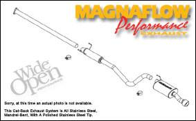 MagnaFlow - Magnaflow Cat-Back Exhaust System - 16669