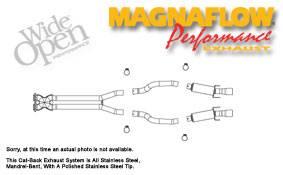 MagnaFlow - Magnaflow Cat-Back Exhaust System - 16670
