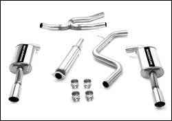 MagnaFlow - Magnaflow Cat-Back Exhaust System - 16728