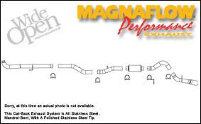 MagnaFlow - Magnaflow Cat-Back Exhaust System - 16900