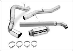 MagnaFlow - Magnaflow Performance Series 5 Inch Exhaust System - 16908