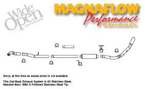 MagnaFlow - Magnaflow Performance Series 4 Inch Exhaust System - 16918