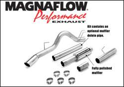 MagnaFlow - Magnaflow Performance Series 4 Inch Exhaust System - 16981