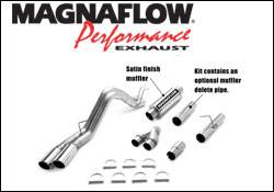 MagnaFlow - Magnaflow XL Performance Diesel Particulate Filter Series 4 Inch Dual Exhaust System - 16989