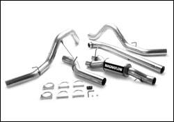 MagnaFlow - Magnaflow PRO Series 4 Inch Exhaust System with Dual Exit - 17903