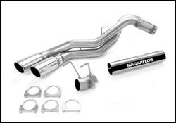 MagnaFlow - Magnaflow PRO Diesel Particulate Filter Series 4 Inch Dual Exhaust System - 17971
