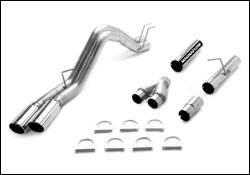 MagnaFlow - Magnaflow PRO Diesel Particulate Filter Series 4 Inch Dual Exhaust System - 17988