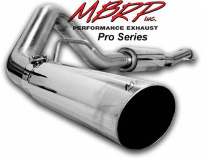 MBRP - MBRP Pro Series Single Side Exhaust System S5000304
