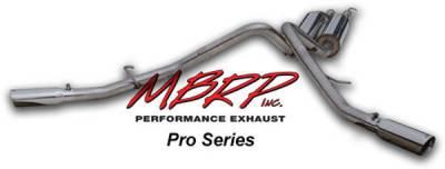 MBRP - MBRP Pro Series Dual Split Side Exhaust System S5008304