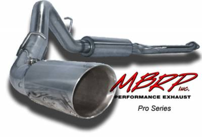 MBRP - MBRP Pro Series Single Side Exhaust System S5014304
