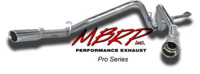MBRP - MBRP Pro Series Dual Split Rear Exhaust System S5016304