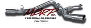 MBRP - MBRP Pro Series Dual Split Side Exhaust System S5022304