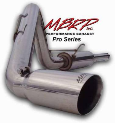 MBRP - MBRP Pro Series Single Side Exhaust System S5100304