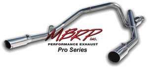 MBRP - MBRP Pro Series Dual Split Side Exhaust System S5114304