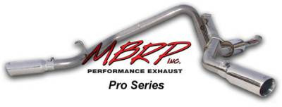 MBRP - MBRP Pro Series Dual Split Side Exhaust System S5118304