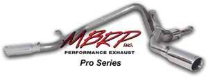 MBRP - MBRP Pro Series Dual Split Side Exhaust System S5128304