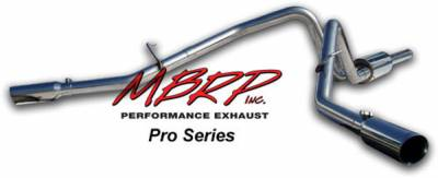 MBRP - MBRP Pro Series Dual Split Side Exhaust System S5204304