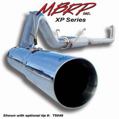 MBRP - MBRP XP Series Down Pipe Back Exhaust System S6004409