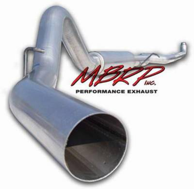 MBRP - MBRP Installer Series Down Pipe Back Exhaust System S6004AL