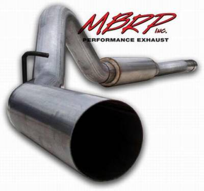 MBRP - MBRP Installer Series Cat Back Exhaust System S6012AL