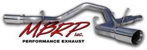 MBRP - MBRP XP Series Cool Duals Exhaust System S6110409
