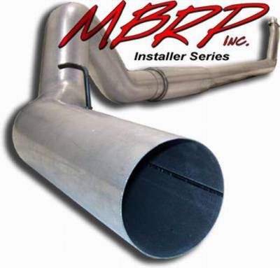 MBRP - MBRP Installer Series Turbo Back Exhaust System S6112AL