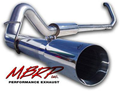 MBRP - MBRP Pro Series Turbo Back Exhaust System S6200304
