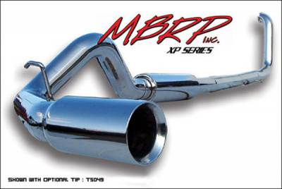 MBRP - MBRP XP Series Turbo Back Exhaust System S6200409