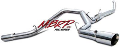 MBRP - MBRP Pro Series Turbo Back Exhaust System S6202304
