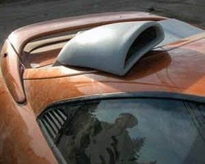 FX Designs - Toyota MR2 FX Design Passenger Side Style Intake Scoop - FX-1042