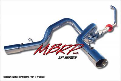 MBRP - MBRP XP Series Turbo Back Cool Duals Exhaust System S6210409