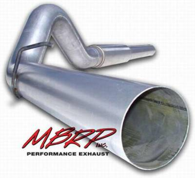 MBRP - MBRP Installer Series Cat Back Exhaust System S6226AL