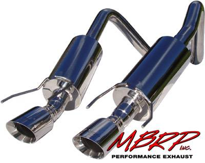 MBRP - MBRP Pro Series American Muscle Car Exhaust System S7000304
