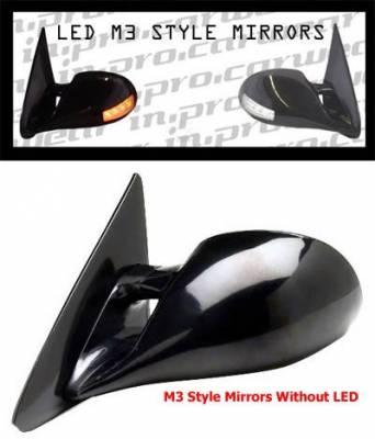 In Pro Carwear - Chevrolet S10 In Pro Carwear Manual Mirrors - CM3-S10