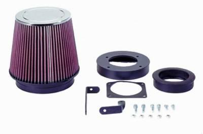 K&N. - Ford Mustang K&N Engineering Fuel Injection Performance Air Intake Kit - 92008