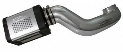 Injen - Hummer H2 Injen Power-Flow Series Air Intake System - Wrinkle Black - PF7062WB
