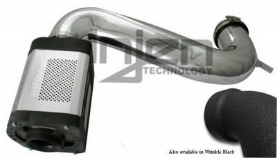 Injen - Dodge Ram Injen Power-Flow Series Air Intake System - Wrinkle Black - PF8050WB