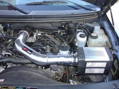Injen - Ford F150 Injen Power-Flow Series Air Intake System - Wrinkle Black - PF9026WB