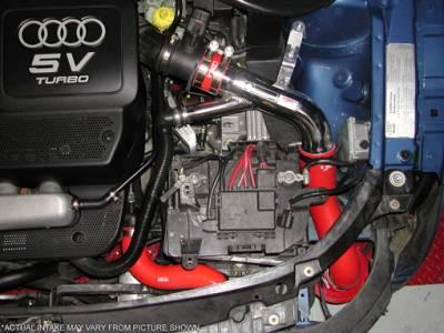 Injen - Audi TT Injen RD Series Cold Air Intake System - Black - RD3025BLK