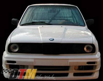 DTM Fiberwerkz - BMW 3 Series DTM Fiberwerkz OEM Style Hood - FRP - E30-OEM-STYL