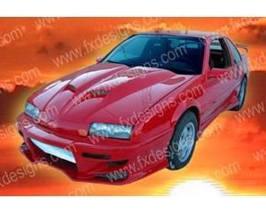 FX Designs - Chevrolet Beretta FX Design Fiberglass Hoods Style Ram Air - FX-935